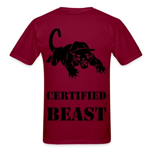 Certified Beast - Men's T-Shirt