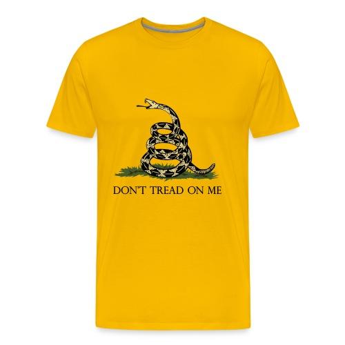 Classic-Don't Tread on Me - Men's Premium T-Shirt