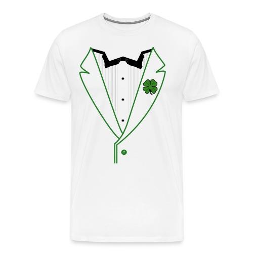 Shamrock Tuxedo - Men's Premium T-Shirt