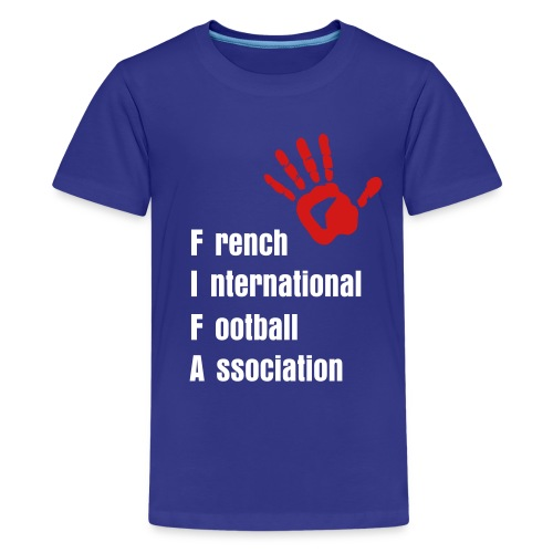 KIDS - French 2010 Unofficial Jersey - Kids' Premium T-Shirt