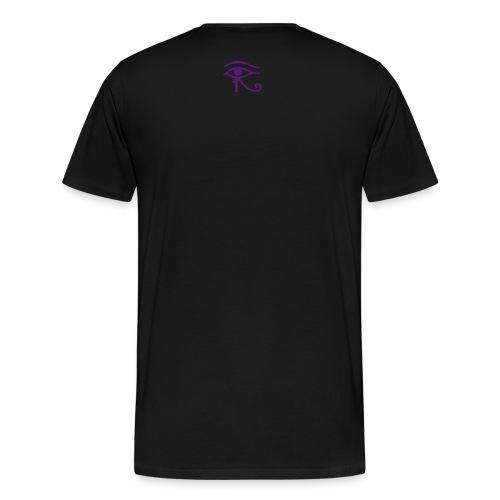 The Big Deal Tee (Air Foamposite Eggplant Colorway) - Men's Premium T-Shirt