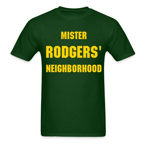 Mr. Rodgers Neighborhood (Green) - Men's T-Shirt