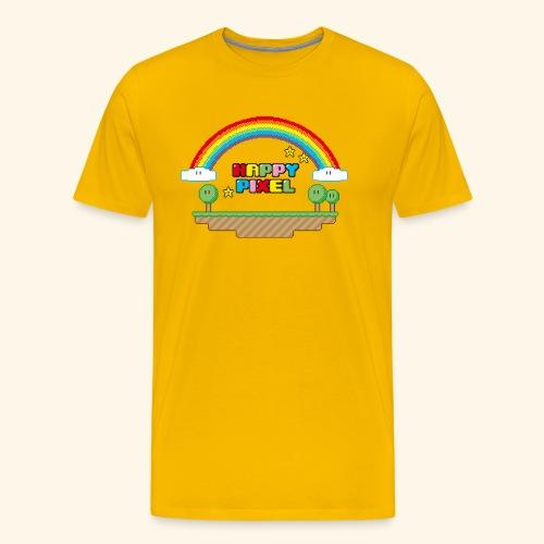Happy Pixel - Men's Premium T-Shirt