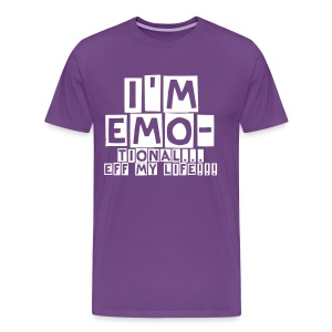 I'm EMOtional Shirt - Men's Premium T-Shirt