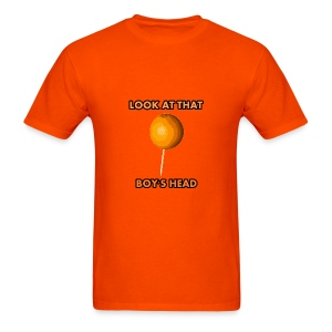 Orange on a Toothpick - Men's T-Shirt
