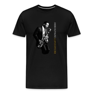 John Coltrane - A Love Supreme - Black Tee - Men's Premium T-Shirt