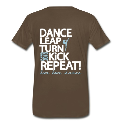 SODC Dance Leap Turn Kick Repeat!  - Men's Premium T-Shirt