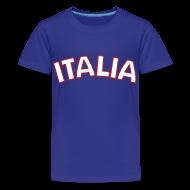 Kids' Shirts ~ Kids' Premium T-Shirt ~ Kids Italia, Blue