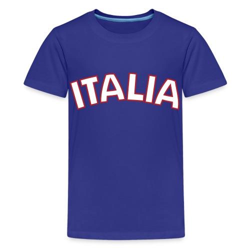 Kids Italia, Blue - Kids' Premium T-Shirt