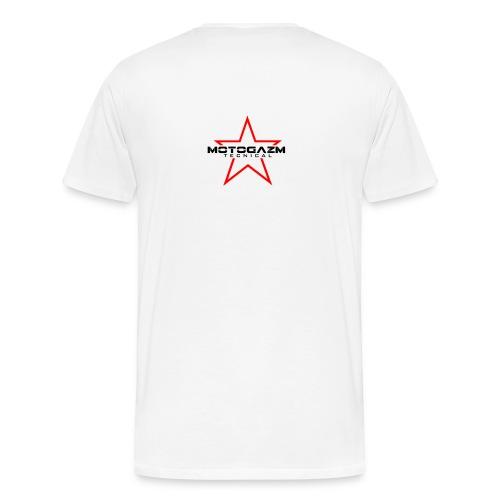 #101S Yamaha FJR 1300-inspired White T-Shirt - Men's Premium T-Shirt