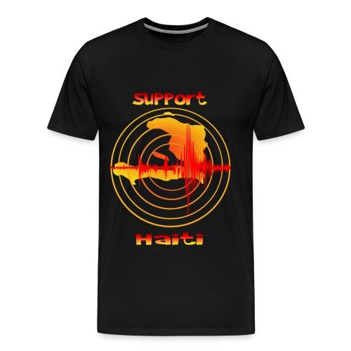 Support Haiti - Men's Premium T-Shirt