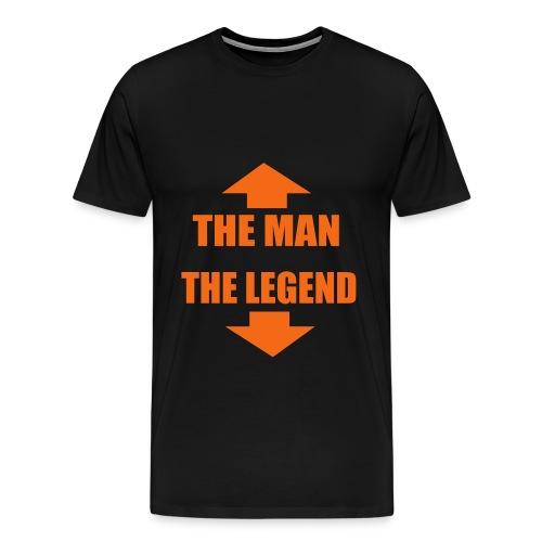 The Man, The Legend - Men's Premium T-Shirt