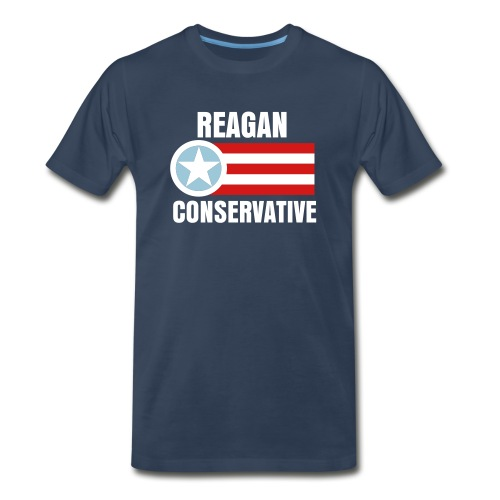 Reagan Conservative Tee - Men's Premium T-Shirt