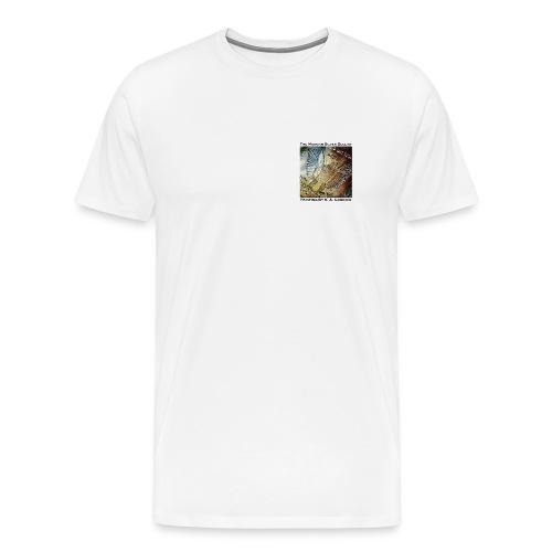 Morgan Silver Dollar Reverse Men's T-Shirt - Men's Premium T-Shirt
