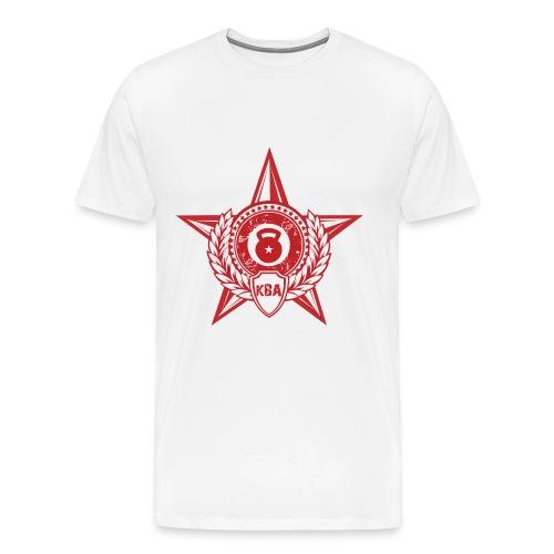 Men's Short Sleeve T Shirt White - Men's Premium T-Shirt
