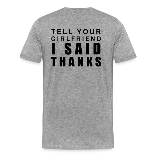 nor t - Men's Premium T-Shirt