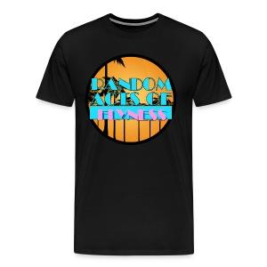 R.A.O.F. Logo Tee  - Men's Premium T-Shirt
