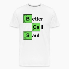 White Better Call Saul T-Shirts