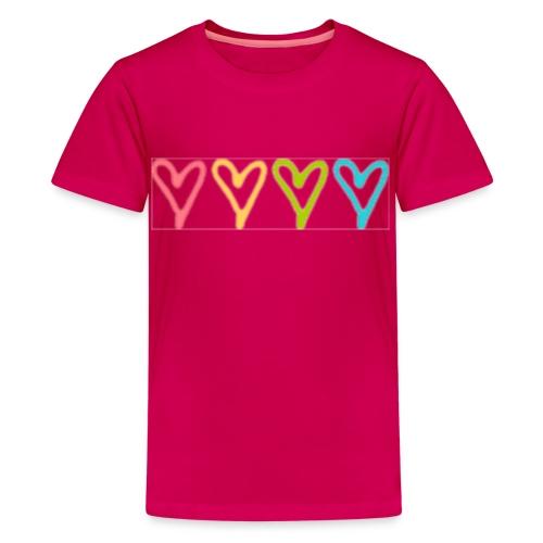 4 hearts - Kids' Premium T-Shirt