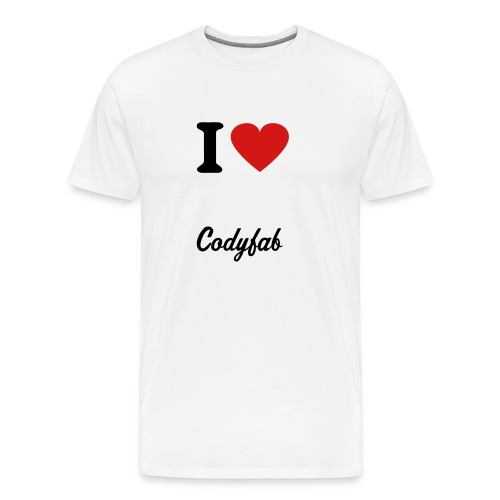 I Heart Codyfab - Men's Premium T-Shirt