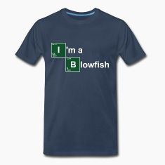 Navy I'm a Blowfish T-Shirts