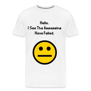Assassin Fail - Men's Premium T-Shirt