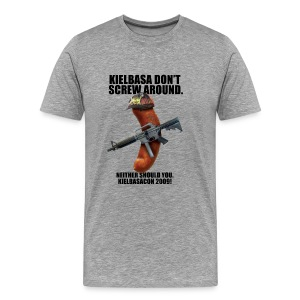 KielbasaCon 2009 Ultimate Shirt : Men - Men's Premium T-Shirt