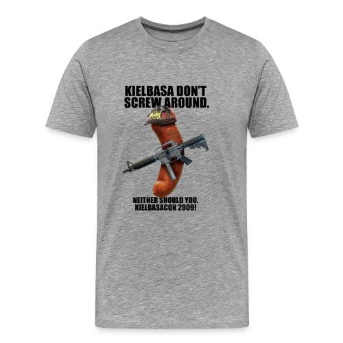 KielbasaCon 2009 Ultimate Shirt : Men - Men's Premium T-Shirt