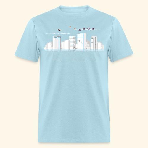 pixelSkyline - Men's T-Shirt