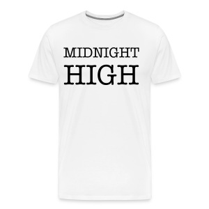 Midnight High Basic Tee - Men's Premium T-Shirt