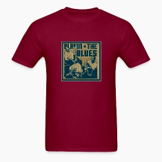 Burgundy playin' the blues T-Shirts
