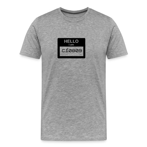 Hello I'm CF0809 - Men's Premium T-Shirt