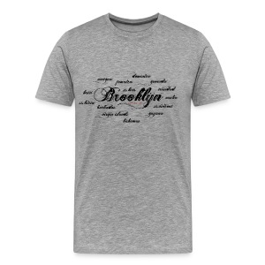 Brooklyn + Islands - Men's Premium T-Shirt