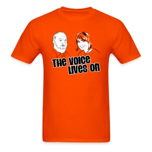 The Voice Lives On - Men's T-Shirt