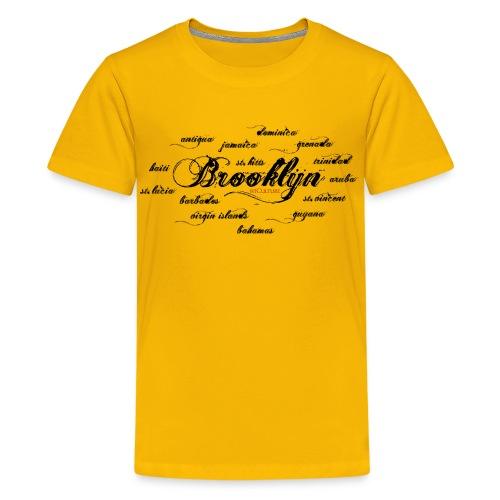Brooklyn + Islands - Kids' Premium T-Shirt