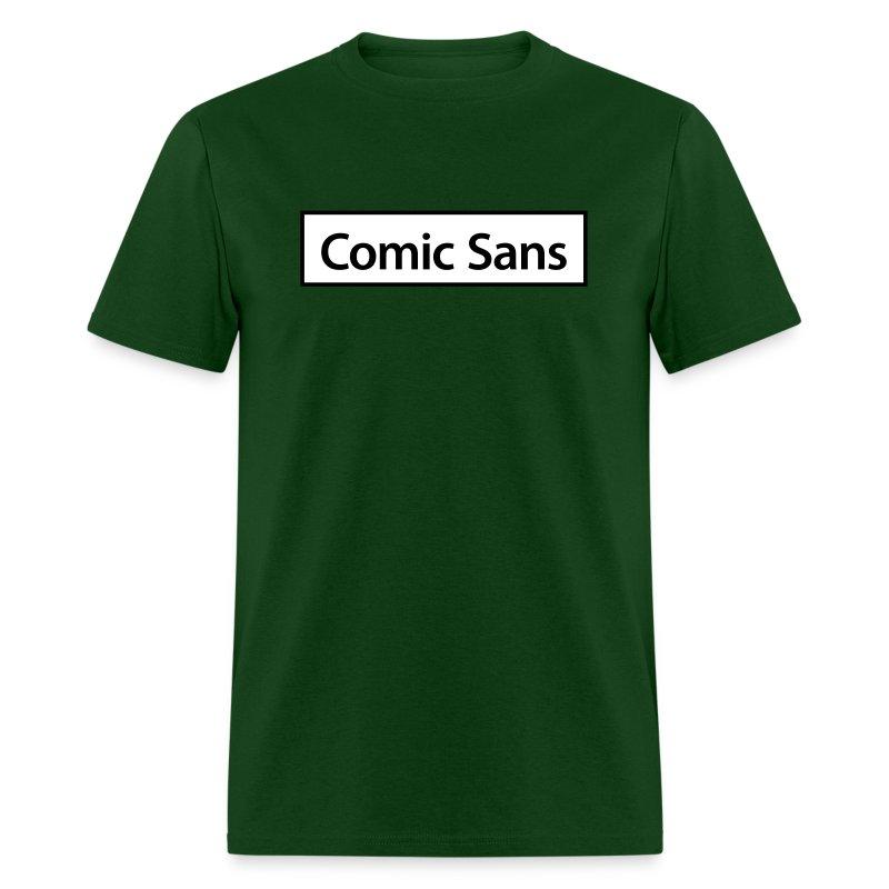 Comic Sans Appreciation #3 - Men's T-Shirt