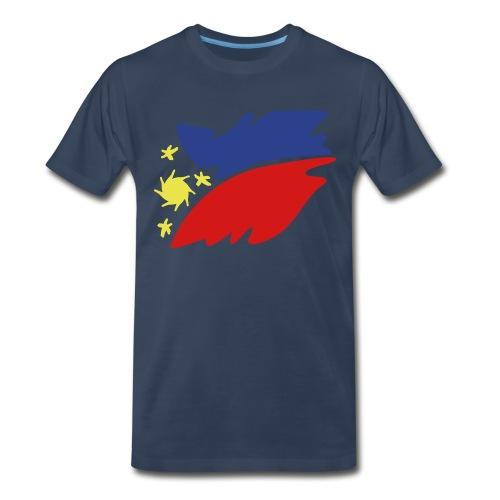 Blue R P - Men's Premium T-Shirt