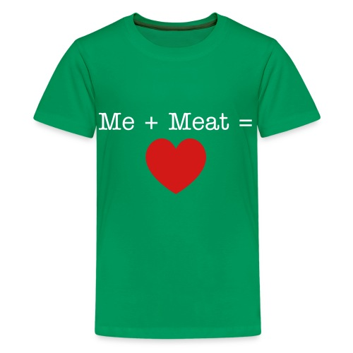 Me + Meat - Kids' Premium T-Shirt