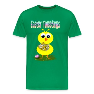 Easter Tweetings - Men's Premium T-Shirt