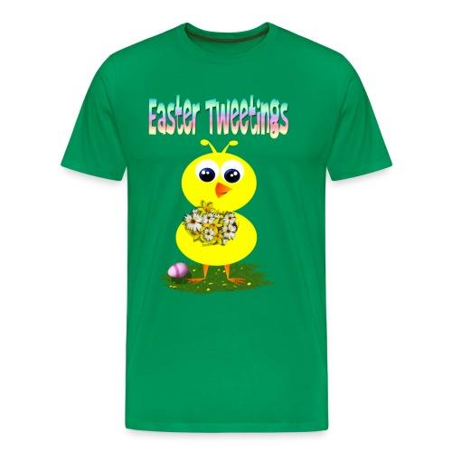 Easter Tweetings - Men's Premium T-Shirt