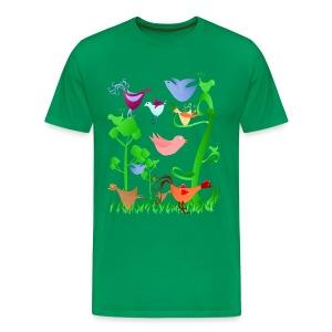 Spring Birds - Men's Premium T-Shirt