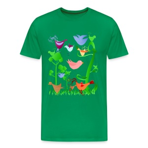 Spring Birds - Men's Premium T-Shirt