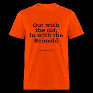 T-Shirts ~ Men's T-Shirt ~ Men's F: ...in with Reimold (orange)