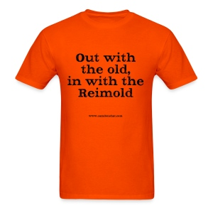 Men's F: ...in with Reimold (orange) - Men's T-Shirt