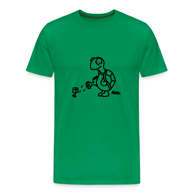 Kelly green Turtle T-Shirts