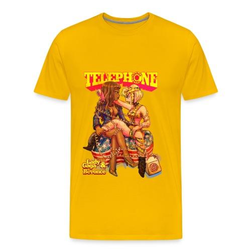 Telephone - Boy's fit - Men's Premium T-Shirt