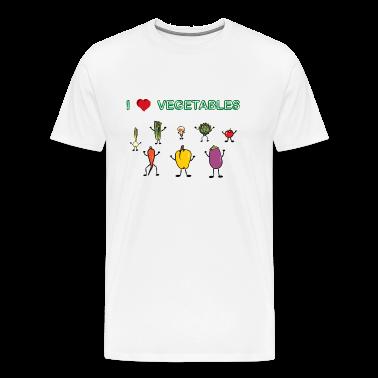 Natural I love vegetables T-Shirts
