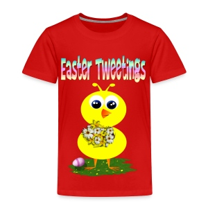 Easter Tweetings - Toddler Premium T-Shirt