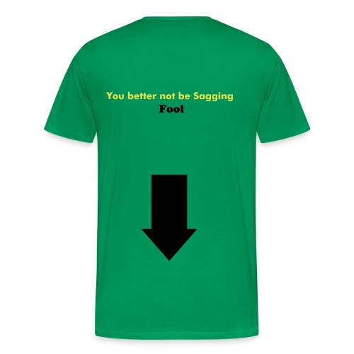 looking like a fool3 - Men's Premium T-Shirt