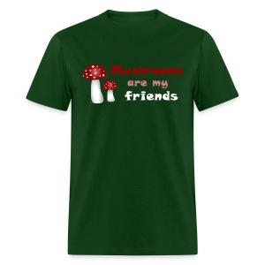 funny shirt mushroom random - Men's T-Shirt